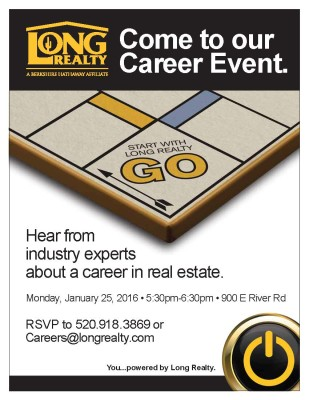 January 2016 Career Flyer