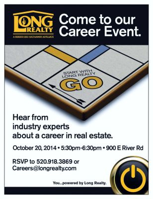 October Career Event flyer